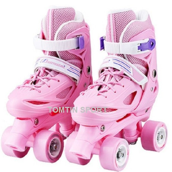 Giày trượt patin trẻ em 2 hàng bánh cho bé từ 2-10 tuổi đi được luôn
