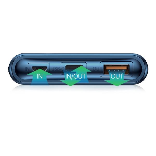 Pin Sạc Dự Phòng 10.000mAh ROBOT RT100Q Chuẩn Sạc Nhanh PD/QC 3.0 18W Đèn LED Hiện Thị Mức PIN - BẢO HÀNH 12 THÁNG