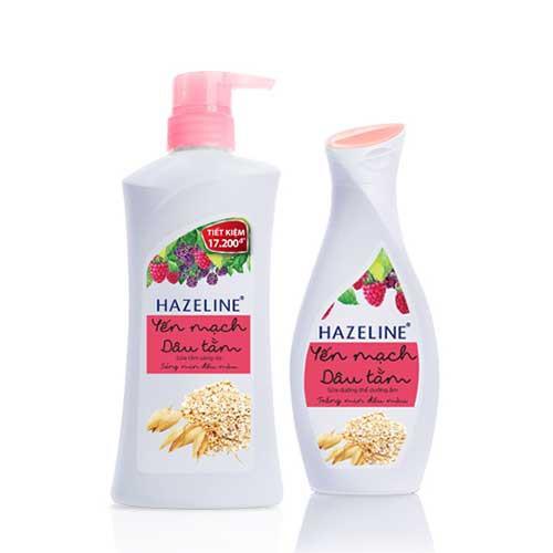 Combo Bộ sản phẩm sữa tắm và dưỡng thể sáng da Hazeline Yến mạch và dâu tằm-Chính hãng - 3024128 , 412907924 , 322_412907924 , 132000 , Combo-Bo-san-pham-sua-tam-va-duong-the-sang-da-Hazeline-Yen-mach-va-dau-tam-Chinh-hang-322_412907924 , shopee.vn , Combo Bộ sản phẩm sữa tắm và dưỡng thể sáng da Hazeline Yến mạch và dâu tằm-Chính hãng