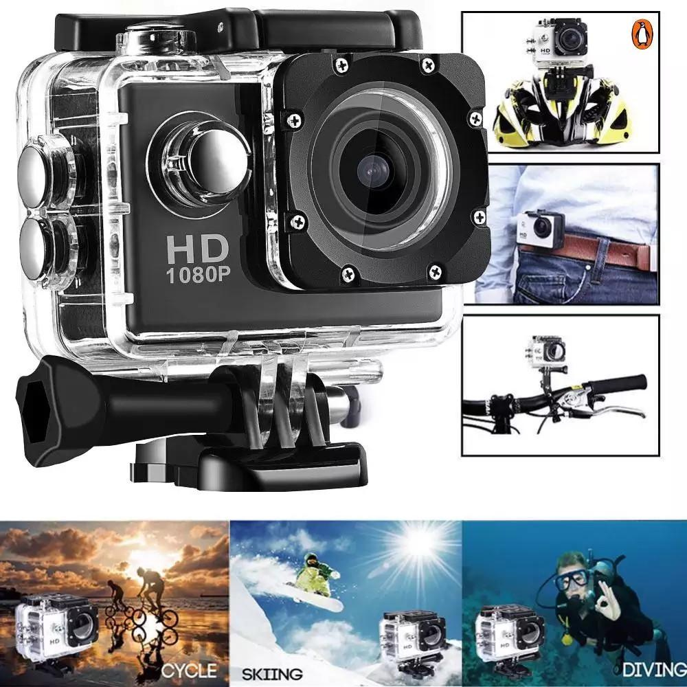 Camera hành trình chống nước 4K SPORT Ultra HD DV, Camera Hành Trình 1080 Sports Cao Cấp Nhỏ Gọn Lấy Nét Hd Tự Động Chụp | Shopee Việt Nam