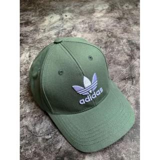 Mũ Adidas xanh rêu ba lá trắng/TREFOIL BASEBALL CAP IN GREEN
