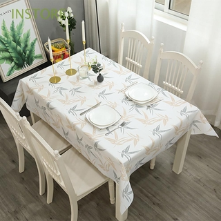 INSTORE Multi-color Table Decoration For Outdoor Picnic Table Mat Tablecloth Fruit Style Wash Free Oil Proof Household Plaid PVC Table Cover/Multicolor