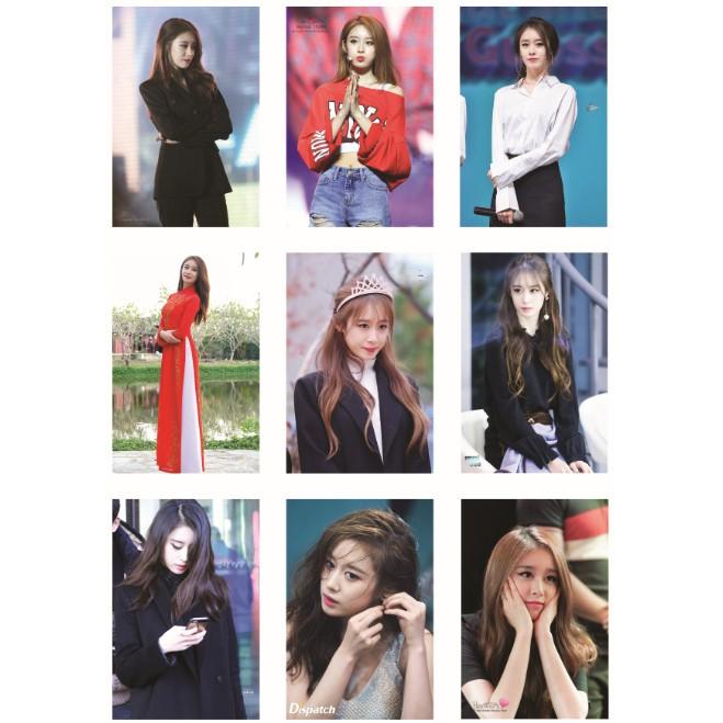 Lomo card ảnh thành viên T-ARA JIYEON full 54 ảnh