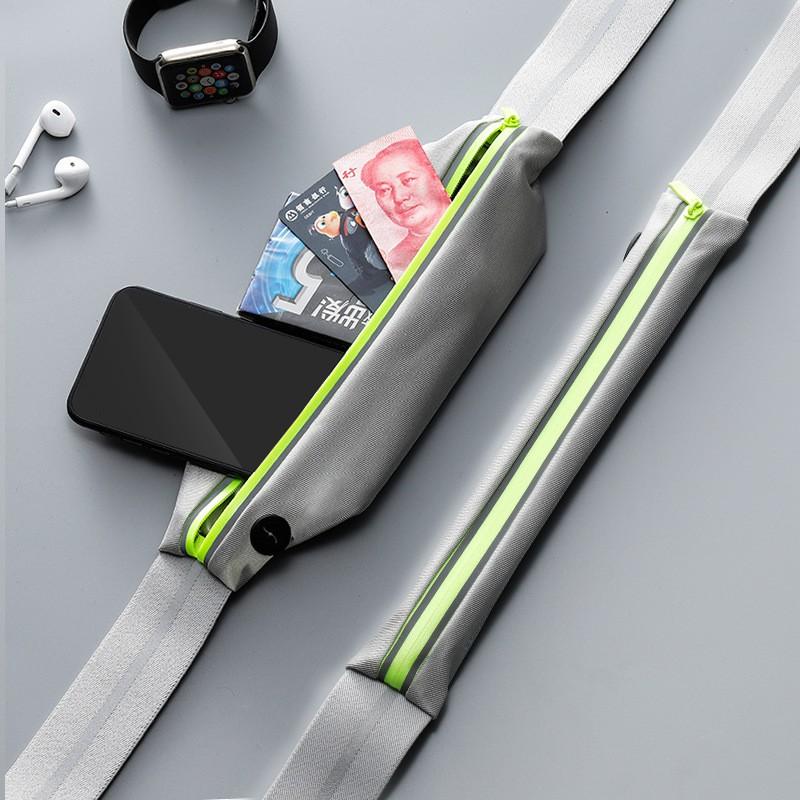 Đai chạy bộ đeo hông, túi đựng điện thoại chạy bộ Siêu Nhẹ, Ôm Sát, Phản quang