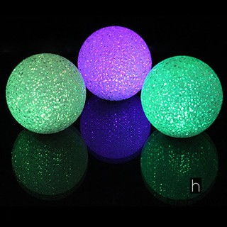 ❤READY Color Changing Crystal Ball LED Night Lamp Magic 7Colors Colorful Light C