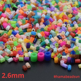 [HÀNG CÓ SẴN] 1000 hạt Perler beads, Hama beads, Hạt màu kì thú (Loại nhỏ 2,6mm) – NHIỀU MÀU LỰA CHỌN