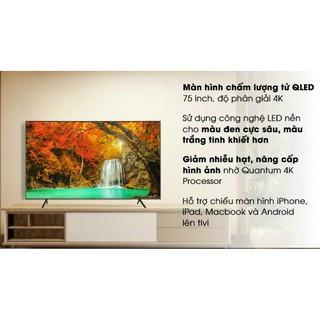 Smart Tivi QLED Samsung 4K 75 inch QA75Q65R (Hàng tồn kho bảo hành chính hãng 2 năm)