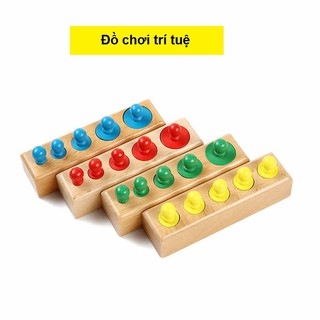 Bộ núm trụ Montessori