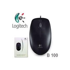 Chuột Máy Tính Logitech B100- Chính Hãng Logitech bảo hành chính hãng