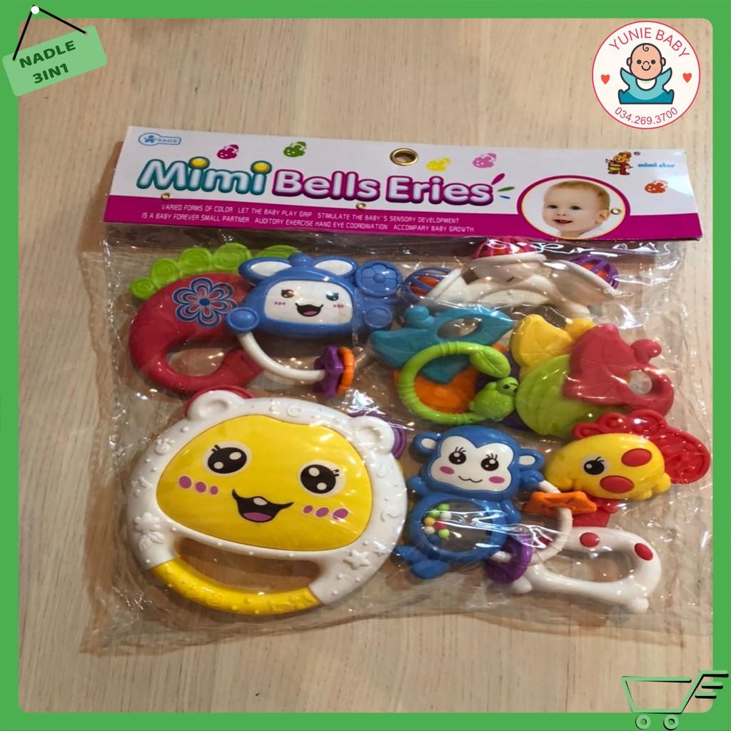 Hộp đồ chơi xúc xắc 7 - 12 món Toys House