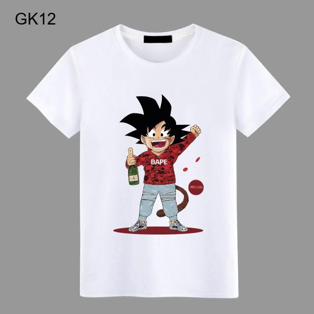 Áo thun áo phông Songoku - GK9