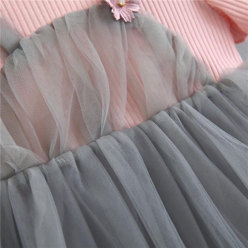 Đầm công chúa bé gái tai thỏ siêu xinh