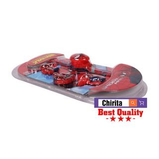 Set Đồng Hồ Người Nhện- 4 mặt-đồng hồ bé trai - Chirita DH365 - 2