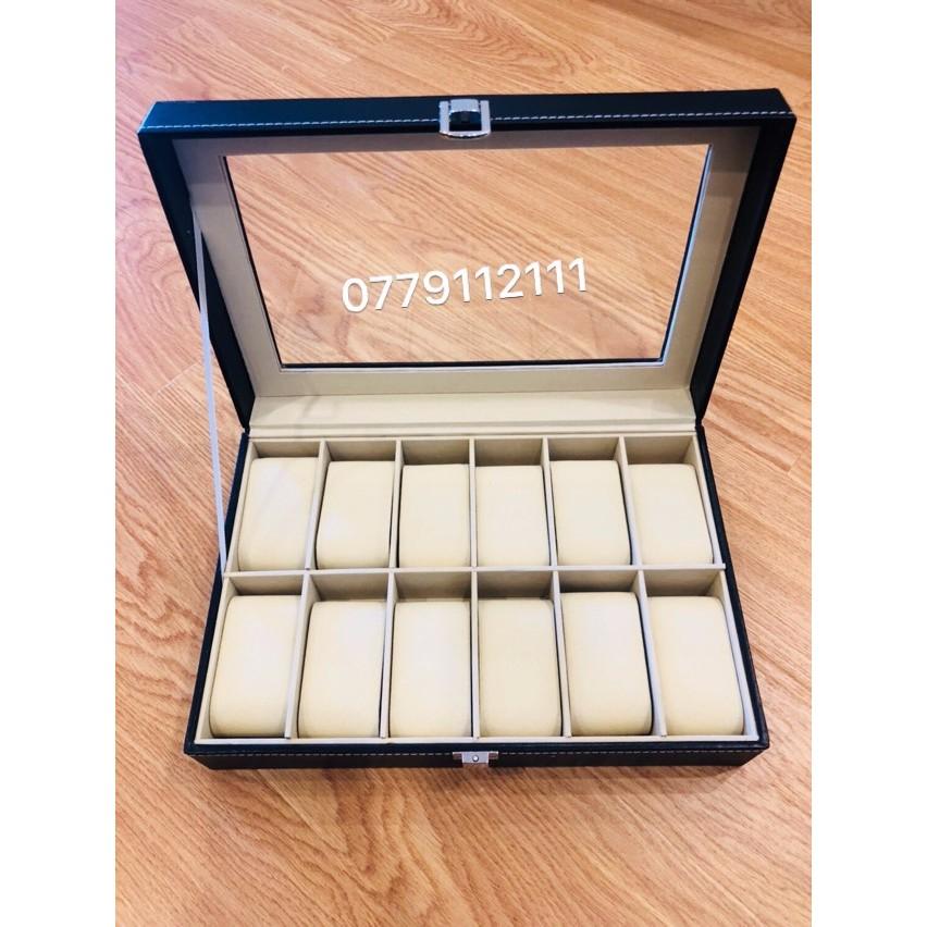 (SALE LỚN) hộp đựng đồng hồ 12 chiếc