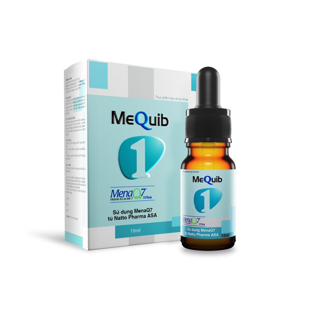 MeQuib 1 - Bổ sung vitamin D3 và vitamin K2 cho cơ thể