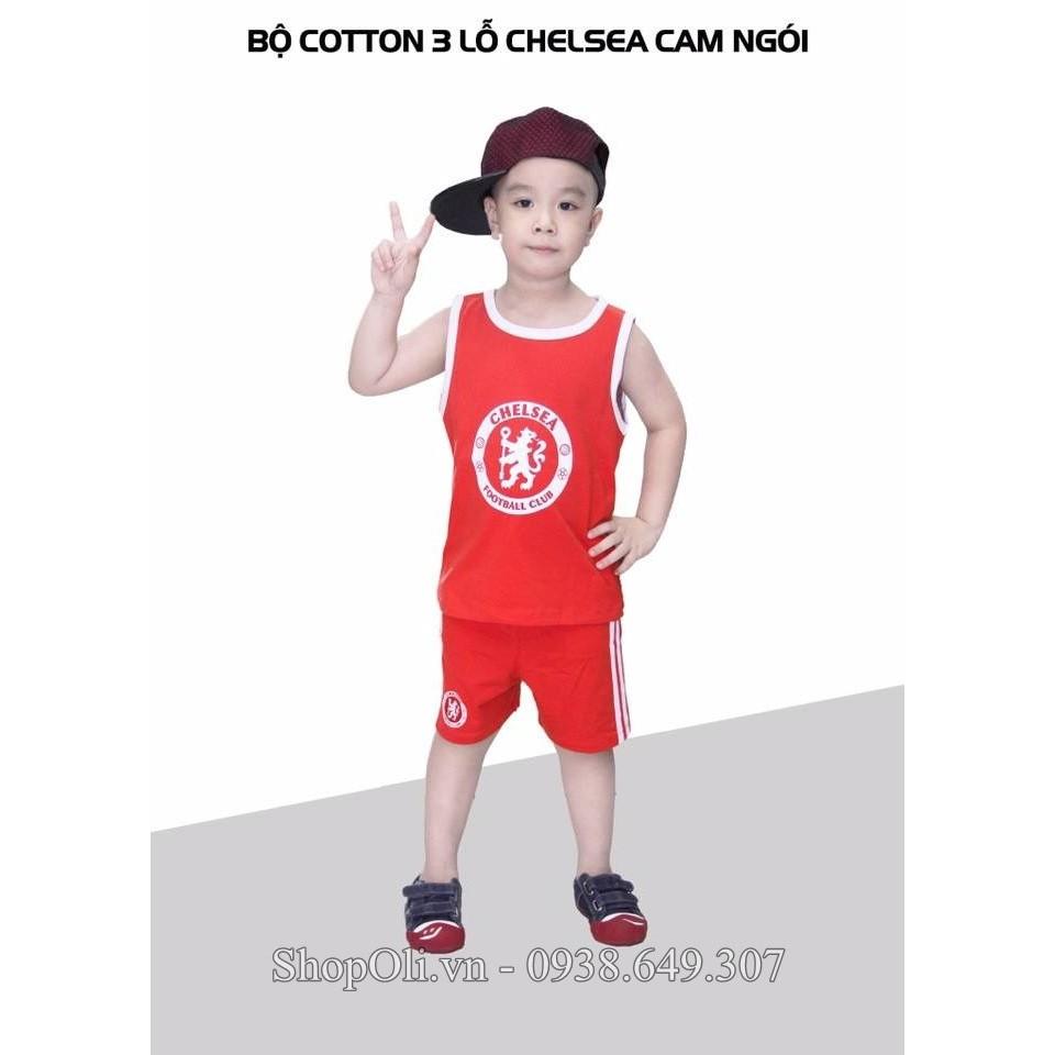 Quần áo ba lỗ trẻ em thể thao cotton 100% Chelsea đỏ - 3156366 , 345873013 , 322_345873013 , 120000 , Quan-ao-ba-lo-tre-em-the-thao-cotton-100Phan-Tram-Chelsea-do-322_345873013 , shopee.vn , Quần áo ba lỗ trẻ em thể thao cotton 100% Chelsea đỏ