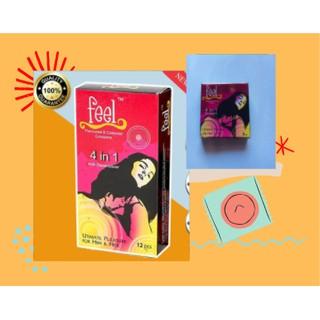 Bao Cao Su Feel 4 in 1 - Malaysia [ĐẠI HẠ GIÁ] Kéo dài thời gian Gân gai 3 Bao thumbnail