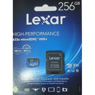Thẻ nhớ MicroSD Lexar 256GB class 10 U3 633x