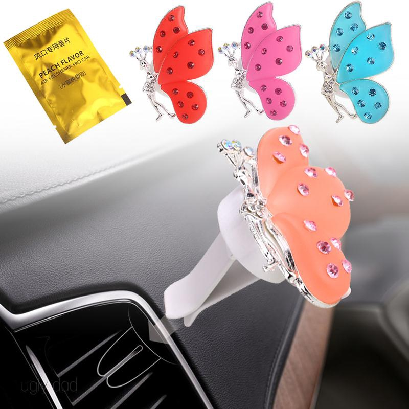Mall Durable Air Outlet Perfume Butterfly Shape Automotive
