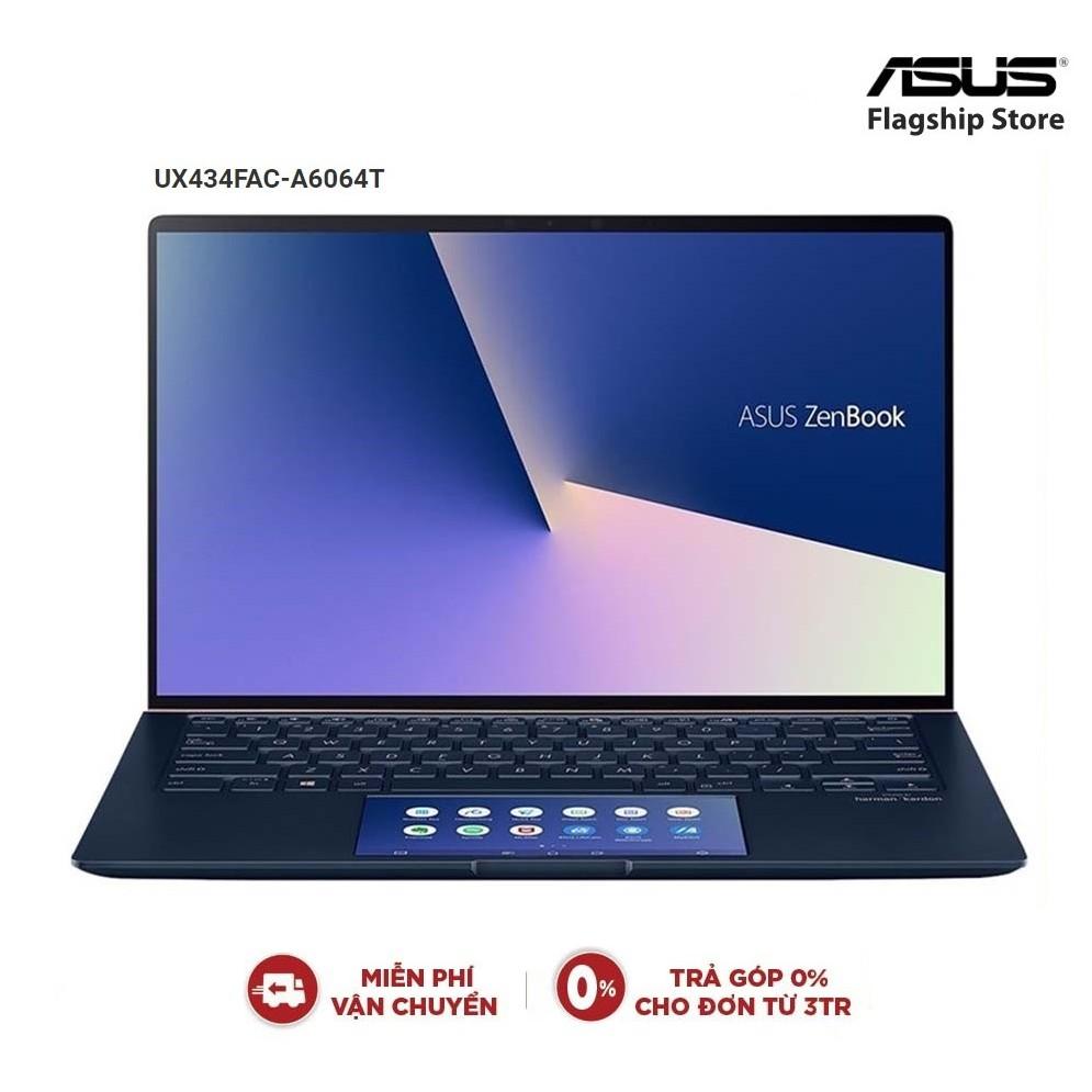Laptop ASUS Zenbook UX434FAC-A6064T Core i5-10210U | 8GB | 512 GB | 14 FHD IPS - Chính Hãng