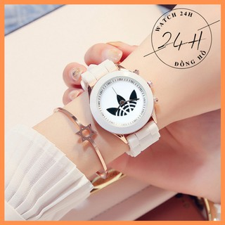 Đồng hồ thể thao nữ AZIDAS , nhựa dẻo năng động thể thao cho tuổi teen
