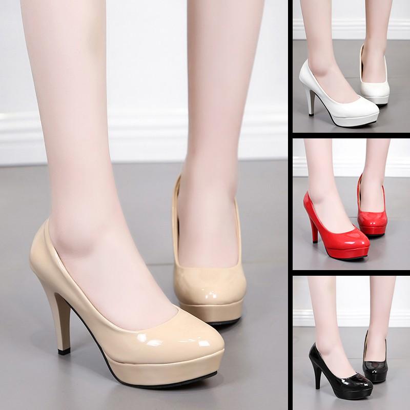 Giày cao gót nữ đế xuồng 10cm