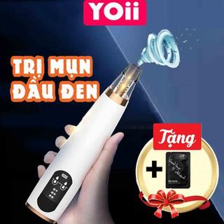 Máy hút mụn Yoii cao cấp vói 3 đầu hút và 3 chế độ hút (chuyên dùng cho Spa, công nghệ Hàn Quốc)