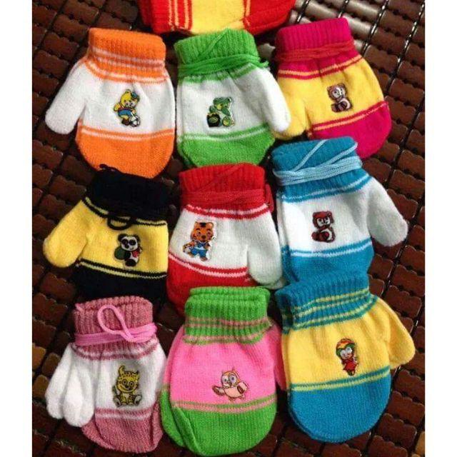 [⚡️ Sale ⚡️] phụ kiện mùa đông cho bé - Bao tay len cho bé 5 tháng - 2 tuổi | Tại Hà Nội