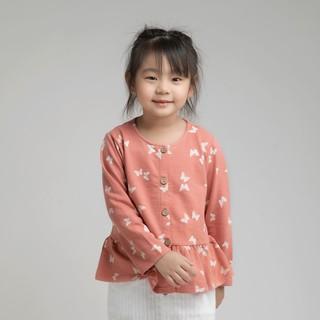 Áo khoác BAA BABY vạt kiểu bèo lai cho bé gái - GT-AK03D thumbnail