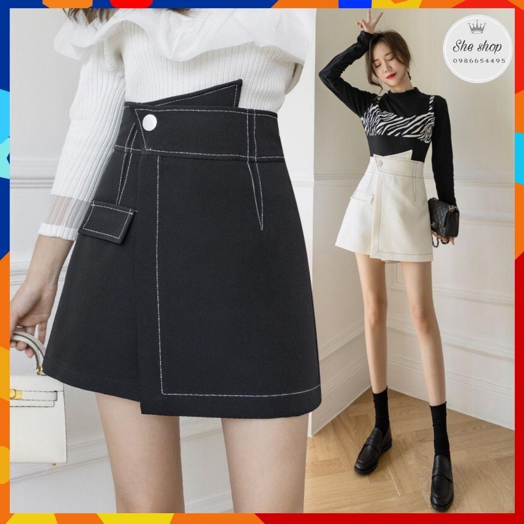 [Mã FAGREEN55 giảm tới 30K đơn 99K] Chân váy chữ a, chân váy ngắn có quần lót trong kiểu dáng trẻ trung năng động