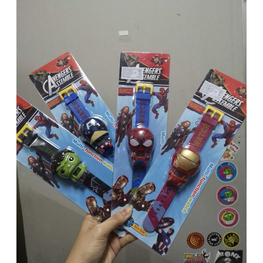 นาฬิกา superhero / ลายการ์ตูนยอดฮิต พร้อมส่งาฬิกา superhero / ลายการ์ตูนยอดฮิต พร้อมส่ง