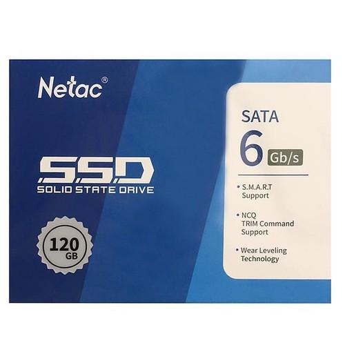 Ổ cứng thể rắn SSD Netac dung lượng 120Gb New (BH 36 tháng) Giá chỉ 395.000₫