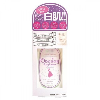 Kem One Day Brightener Premium Tím SPF15, PA+ Dưỡng Trắng Toàn Thân 120ml Nhật Bản thumbnail