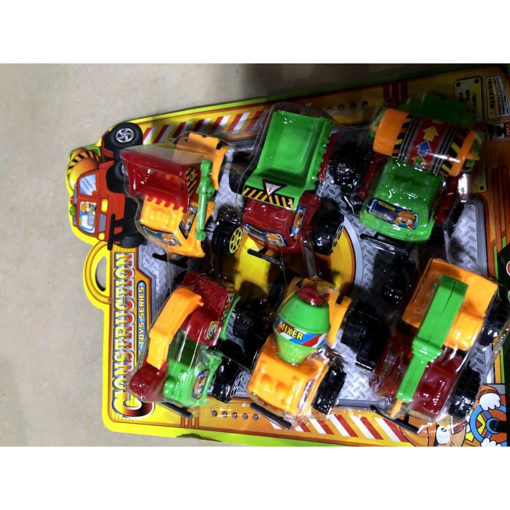 [SNND] vĩ đồ chơi xe cho bé bằng nhựa mã 1533c