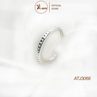 Nhẫn bạc 925 đơn giản xinh xắn thời trang phong cách Hàn Quốc ANTA Jewelry - ATJ3066 thumbnail