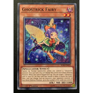 THẺ BÀI YUGIOH Ghostrick Fairy – Common