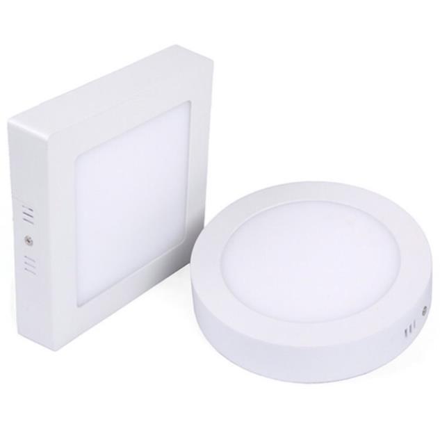 Đèn led mâm nổi ốp trần 24w tròn-trắng