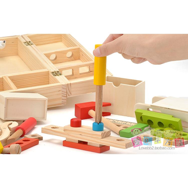 Funny Play house toy children tool box set