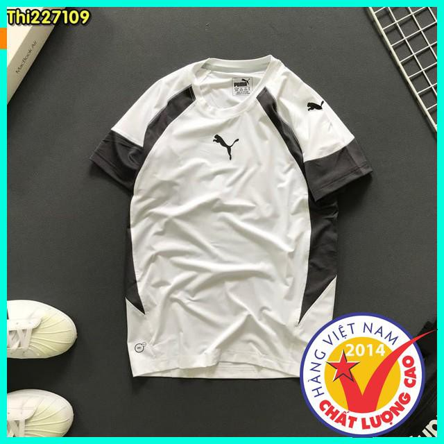 [Khuyến Mại] Áo thun nam thể thao cộc tay cổ tròn cao cấp 100% Cotton, Thời trang nam, Quần áo thể thao nam