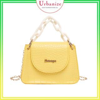 [Siêu Sale] Túi nữ đeo chéo mini Xuân hè 2021 quai xách dây xích trang nhã Urbanize - TXMN02 thumbnail