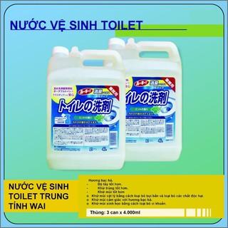 Nước vệ sinh Toilet Trung Tính Wai Nhật 4 lít