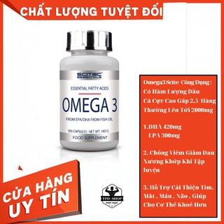 [ Chống Viêm Giảm Đau Xương Khớp ] Omega3 Scitec 140g fish Oil Dầu Cá Hỗ Trợ Mắt Tim Máu Não Giúp Cơ Thể KHo thumbnail