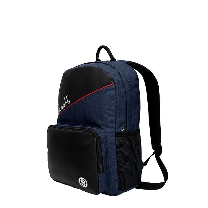 Balo laptop thời trang Lusetti LS_5112 Xanh đen