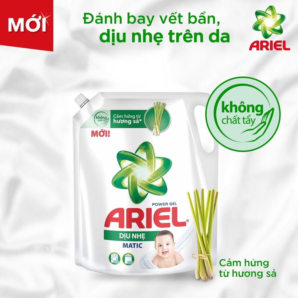 Nước giặt Ariel dịu nhẹ cho da nhạy cảm túi 2.15kg