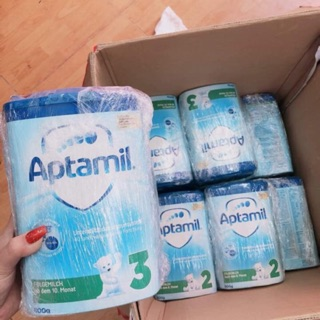 Sữa aptamil Đức xách tay có bill đầy đủ- số 1,3- 800g –