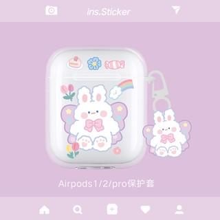 Tặng kèm móc - Mẫu 04IN Case airpod 1 2 PRO in hình dễ thương với hoạ tiết xinh xắn thumbnail