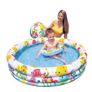 Bể bơi Intex 3 tầng – tặng kèm bóng và phao