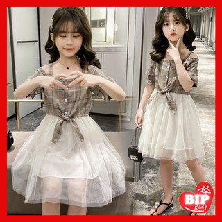 Váy Đầm Bé Gái Đẹp Sành Điệu Cao Cấp 10012