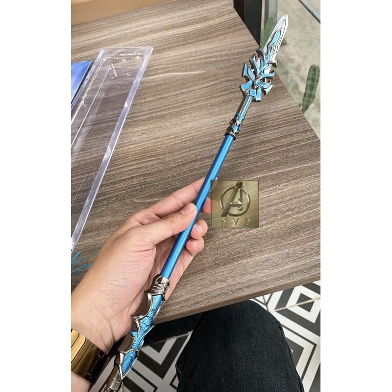 Mô hình Đấu la đại lục Lam ngân bá vương thương 43cm(kéo dài 57cm) cực đẹp