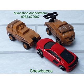 Xe mô hình Star Wars – Chewbacca (1 xe cứu hộ màu nâu) (không bao gồm xe màu đỏ)